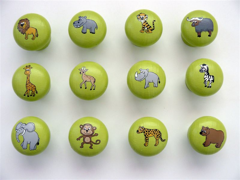 Lime Wild Animals